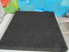 Filterschwamm / Filtermatte  200x100x1cm schwarz ( m² 9,75€ )