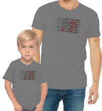 Red Horse US Flag Adults Mans & Womens & Kids & Boy & Girl T-Shirt