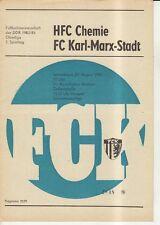 OL 83/84  FC Karl-Marx-Stadt - HFC Chemie