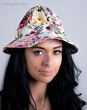 Ladies, men, bucket hats, sun derby holiday, hip hop urban white floral supreme