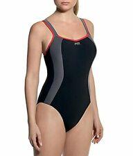 Panache Women's Swim Athletic Sports One-Peice Swimsuit (UK SiZE) MRSP $130