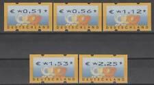 Bund ATM 4.1  VS 2 ** Postemblem 2002  postfrisch Versandstellensatz