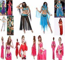 Arabian NIGHTS Harem BELLY DANCER Genie PRINCIPESSA JASMINE ALADIN Costume