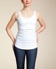 Boob Nursing Singlet - breastfeeding vest - L / UK14 - lemon or white