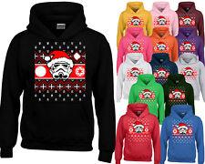 STORMTROOPER Santa HOODIE Sweatshirt Funny Ugly Christmas Sweater Hoodie Xmas