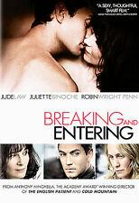 Breaking and Entering (DVD, 2007) Juliette Binoche, Jude Law Fast Free Shipping!