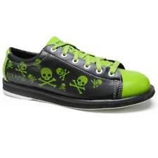 Pyramid Men's Skull Black/Green Bowling Shoes