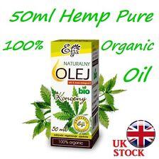 50ml Puro Orgánico aceites 100% BIO ARGÁN Aguacate cáñamo Neem Aceite de ricino oleje etja