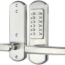 Keyless Entry Door Lock Mechanical Password Code Keypad Security Combination Kit