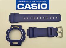 Casio G-Shock Strap DW-9052 DW-9050 DW-9051 BLUE Watch Band & Bezel Case cover