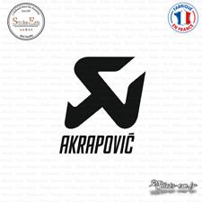 Sticker Akrapovic Logo Decal Aufkleber Pegatinas AKR01 Couleurs au choix