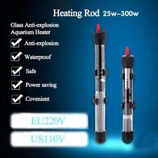 Submersible 110V/ 220-240V Heater Heating Rod for Aquarium Temperature Adjustabl