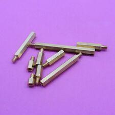 M4 Pillar Hex Male Different Size Brass Standoff Spacer Hexagon