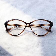 Ladies Womens Cat eye TR90 Eyeglasses Frames Optical Eyeglasses RX Clear Lens