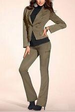 2Tlg. Hosenanzug Laura Scott NEU L-Gr.72,76,80,84 Damen Anzug Khaki Hose Blazer