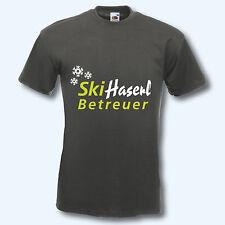 T-Shirt, Fun-Shirt, Ski Haserl Betreuer, Apres Ski, 12 Farben, S-XXL