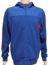 Ridge point Men's Hooded Jacket Hood Zip Fastening Breathable Cobalt Blue 40-46