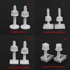 4x toilet seat hinge bolts replacement screws fixing fitting kit repair tools ni