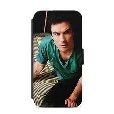 IAN SOMERHALDER VAMPIRE DIARIES Wallet Flip phone Case Cover iPhone & Samsung