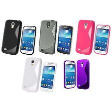pour Samsung Galaxy S4 Mini S-LINE SILICONE GEL et protecteur d'écran