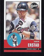 2001 Upper Deck Vintage Baseball Cards 1-250 Pick From List
