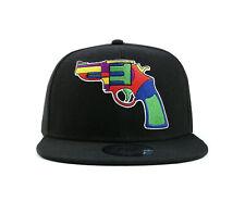 True Heads Colourful Revolver Gun Snapback Baseball Cap
