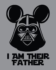 I Am Their Father DISNEY World STAR WARS shirt family vacation Darth Vader lego