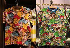 Tokyo Disney Resort T-Shirts Pooh Friends Toy Story S-LL Size JAPAN TDR