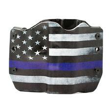 SIG, Thin Blue Line, OWB Color Kydex Gun Holsters