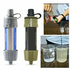 Outdoor Mini Wasserfilter Wasseraufbereitung Strohwasser Trinkwasser Reiniger