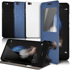 Housse Coque Etui S-View Fonction Support Couleur pour Huawei Ascend P8 Lite