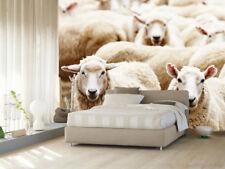 3D Fat Sheep Animal 649 Wall Paper Wall Print Decal Wall AJ WALLPAPER CA