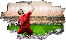Fußball Spieler Wandtattoo Wandsticker Wandaufkleber C0522