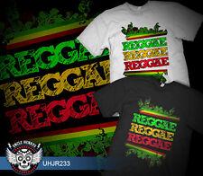JAMAICA  REGGAE  MUSIC  BOB MARLEY   RETRO  QUALITY TSHIRT