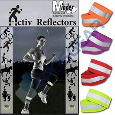 Minder Activ Reflector Hi-Vis High Visibility Reflective Running Jogging Armband