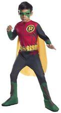 DC Comics Superhero Robin Child Costume The Boy Wonder Superheroes SM-MD-LG