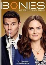Bones: The Complete Season Nine 9 (DVD, 2014, 6-Disc Set)