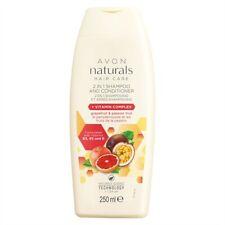 Avon Cura dei capelli 2 in 1 SHAMPOO & BALSAMO NATURALS SCIENZA TECNOLOGIA + a basso pH