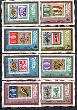 Hungary 1973 International Philatelic Exhibitions  CNH Set SC # 2221-2228