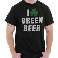 Irish I Love Green Beer Shirt Shamrock St Patricks Day Patty Classic T Shirt Tee