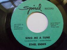 ETHEL ENNIS ~ SING ME A TUNE ~ SOUL JAZZ VOCAL on SPIRAL ~ HEAR IT