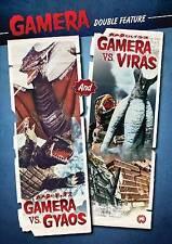 NEW DVD Gamera Vs. Gyaos / Gamera Vs. Viras [Double Feature]~Noriaki Yuasa,Kojir
