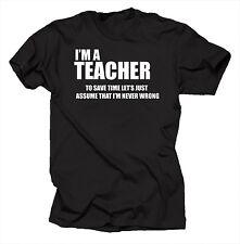 I Am A Teacher T Shirt Funny Tshirt Shirt Tee Christmas Gift For Teacher