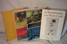 4 ART BOOKS HISTORY TRANSFORMATION AVANT GARDE WOLFIN E
