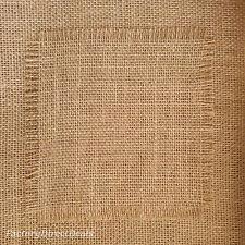 40''wide Natural Jute Hessian Burlap Fabric Wedding Craft Upholstery Garden 10oz