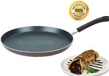 Non stick Crepe Pan Tawa Pancake Fry Pan Size 24cm And 30cm Heavy Duty Pan