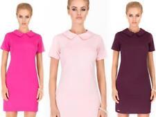 Kleid Minikleid Top mit Kragen in 5 Farben 36 38 40 42 , M185