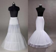 Fishtail Mermaid Wedding Dress Petticoat Bride Underskirt Prom Stock Crinoline G