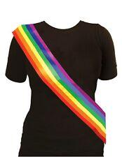 LGBT Dress Up Anthem Pride Festival Summer Rainbow Sash Gay Lesbian Unity