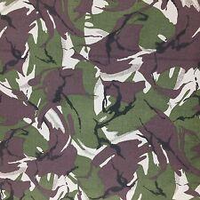 Camouflage Stoff 100% Baumwolle Bohrer Armee Camo Militär Kleidung Kleid Polster
